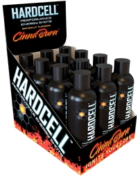 Hardcell Cinnaburn 12 Pack of 2oz Shots
